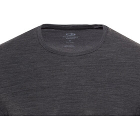 Icebreaker Anatomica LS Crew Shirt Men jet heather/black